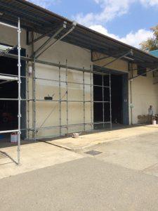 昭島スタジオ 壁塗替え