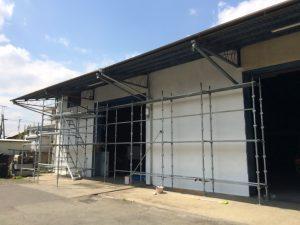 昭島スタジオ 壁塗替え2